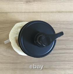 100 Matte Black Mason Jar Soap/Lotion Dispenser Lids. Wholesale Bulk Rate