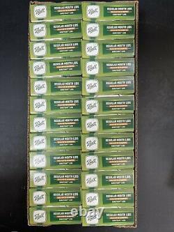 BALL Regular Mouth Mason Canning Jar Lids 24 Boxes of 12 Lids 288 Total Lids