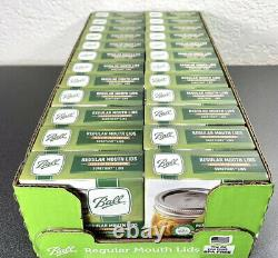 BALL Regular Mouth Mason Canning Jar Lids FULL CASE 24 Boxes with288 Total Lids