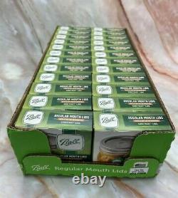 BALL Regular Mouth Mason Canning Jar Lids NEW Case of 24 (288 Total Lids)