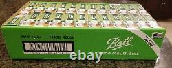 BRAND NEW BALL Wide Mouth Mason Canning Jar Lids 288 Total Lids In-Hand