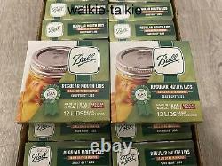 Ball Regular Mouth Mason Canning Jar Lids 24 Boxes Packs (288 Lids Total) New