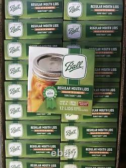 Ball Regular Mouth Mason Canning Jar Lids Full Case, 24 Boxes, 288 Total Lids