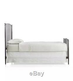 Crate & Barrel Mason Full Bed with included Serta Mattress Set