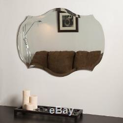 Decor Wonderland Mason Bathroom Mirror 23W x 31H in, Silver