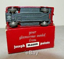 Dinky Original JOSEPH MASON PAINTS Very Near Mint Boxed NOT REPAINT RARE