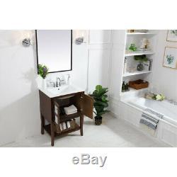 Elegant Lighting VF2102MR Mason Antique Coffee Vanity Sink Set