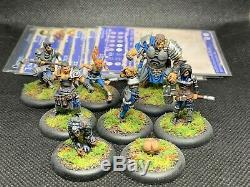 Guild Ball Mason Team Pro Painted Original Metal