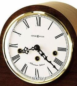 Howard Miller Mason Mantel Clock 630-161 Mechanical Windsor Cherry Home Dec