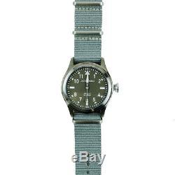 Jack Mason Aviator Watch 42mm Gunmetal/Grey/Olive Green