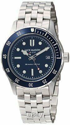 Jack Mason Diver Watch Diver Quartz Jm-D101-002 Men New