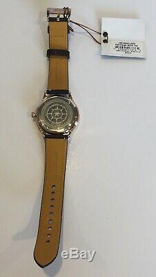Jack Mason Heritage Silm 3H Watch JM-H201-003 Brown Leather Strap