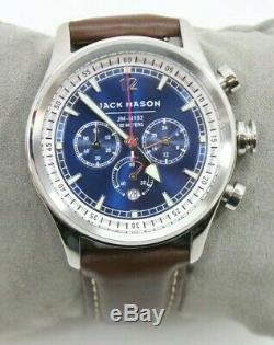 Jack Mason JM-N102-015 Men's Nautical Chronograph Quartz Watch Free Shipping