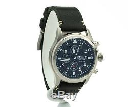 Jack Mason Men's Aviation Chronograph Leather Watch JM-A102-015, New
