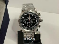Jack Mason Men's Nautical Chronograph Stainless Watch JM-N102-340 NEW IN BOX