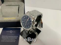 Jack Mason Men's Nautical Chronograph Stainless Watch JM-N102-340 NEW IN BOX