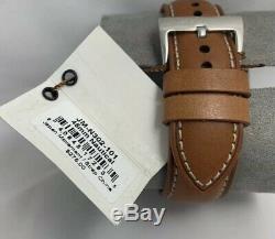Jack Mason Men's Nautical Chronograph Tan Leather 45mm Watch JM-N302-101