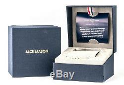 Jack Mason Men's Nautical Watch JM-N112-006, New