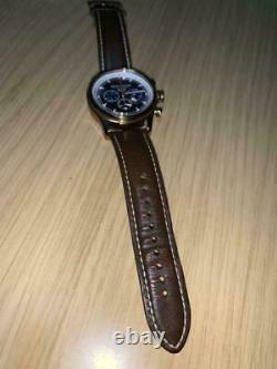 Jack Mason NAUTICAL JM-N102-026 Quartz (made in Japan) 42mm Leather Rare