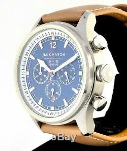 Jack Mason Nautical Quartz Chronograph Stainless with Blue Dial JM-N102-019