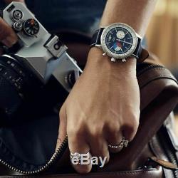 Jack Mason Racing Chronograph Leather Black