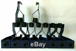 Job Lot 58x Navy Mason HDQF Acoustic Green Coded Rubber Ceiling Hangers