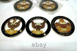 Job Lot x 66 Auto Emblem Scottish Rite Metal Enamel Masonic Freemason Badges