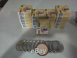 Kerr Regular Mouth Mason/Ball Canning Jar Lid 19 Boxes of 12 = 228 lids in all