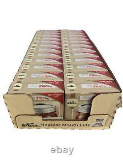 Kerr Regular Mouth Mason Jar Lids 24 Packs (288 Lids) Ships Today