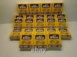 Kerr Wide Mouth Mason Canning Lids 22 Boxes Of 12 (264 Total) Lids Free Ship