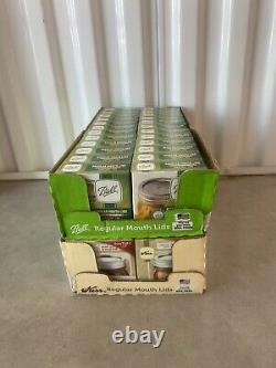 Lot Of 48 Ball & Kerr Regular Mouth Mason Lids, Canning Jar Lids 576 Total