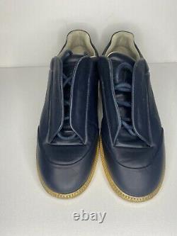 Mason Margiela Future Low Top Mens Sneaker Size 10 Blue Gold