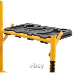 MetalTech Scaffolding Set 5 ft. X 4 ft. Adjustable Caster Foldable Metal