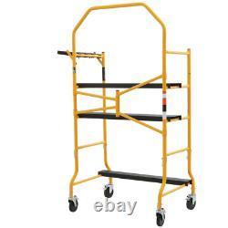 MetalTech Scaffolding Set 900lbs Load Capacity Ladders Light Equipment Tools