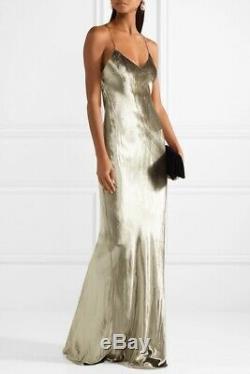 Michelle Mason gold velvet gown