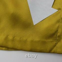 NEW Michelle Mason 100% Silk One Sleeve Draped Mini Dress in Dijon, Gold 6