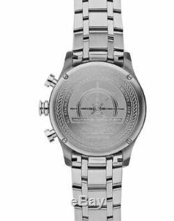 NIB JACK MASON JM-N102-340 NAUTICAL Chronograph STAINLESS Bracelet WATCH