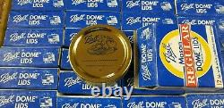 NOS Lot of 60 Boxes Ball Mason Regular Mouth Canning Jar Dome Lids Total 720