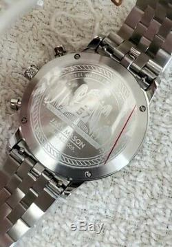 New $350 Jack Mason Racing Mirabeau Chrono Stainless Steel Watch JM-R402-005