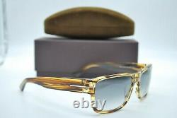 New Tom Ford Tf 445 50b Brown Black Gradient Authentic Frame Sunglasses 58-17