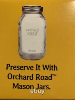 Orchard Road Regular Mouth Mason Jars Canning Lids And Bands 18 Boxes