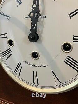 RARE Millenium Edition Howard Miller 630-161 Mason Mantel/Mantle/Shelf Clock