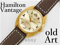 Rare Hamilton Vantage Free Mason Automatic M-12352
