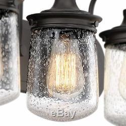 Revel Mason 23 3-Light Industrial Vanity/Bathroom Light, Oil-Rubbed Bronze F