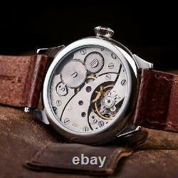 Russian Cool Mason Molnija USSR soviet watch vintage pocket watch on wrist