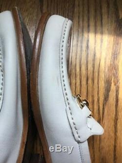 Salvatore Ferragamo Mason Saddle Soft Calfskin Loafer With Gold Buckle 7 $550
