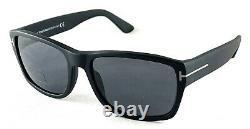 TOM FORD MASON TF445 02D POLARIZED Black Sunglasses 58-17-140