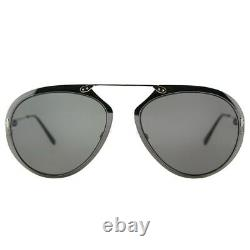 Tom Ford Dashel TF508 Gunmetal 08Z Aviator Metal Sunglasses 55-18-145 FT508 Sun