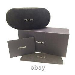 Tom Ford FT0445 Mason Sunglasses Color 02D Matte Black Size 58MM TF445 Polarized