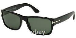 Tom Ford MASON FT 0445 Shiny Black/Green 58/17/140 men Sunglasses